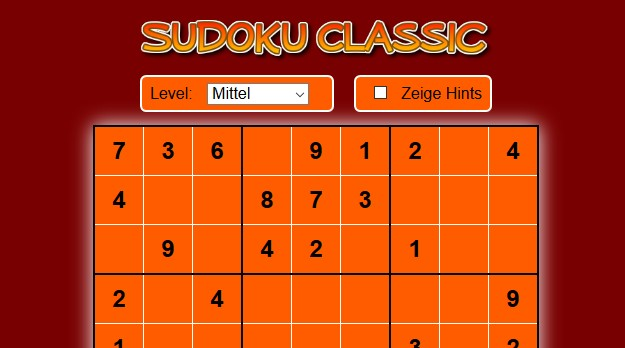 Image Sudoku Classic